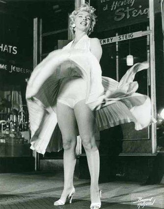Marilyn Monroe dal fil 7 year itch 1954